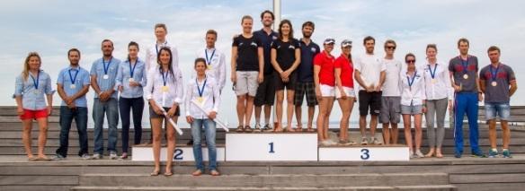 470 Europeans 2015 Prizes