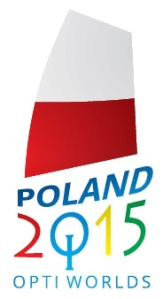 Opti Worlds 2015 logo