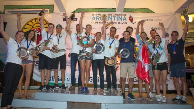 2016 470 World Championship.  20-27 February.  San Isidro, Argentina. Photo © Matias Capizzano