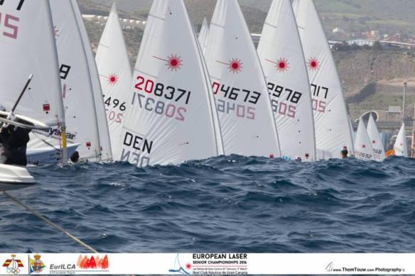 Laser Europeans 2016 Start