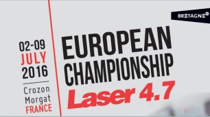 Laser 4.7 Europeans 2016 logo