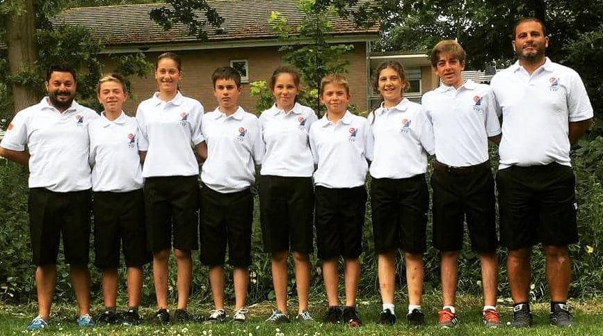 2018 Opti Europeans Team